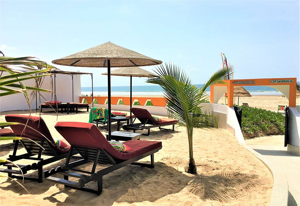 Plage hotel cap skirring senegal
